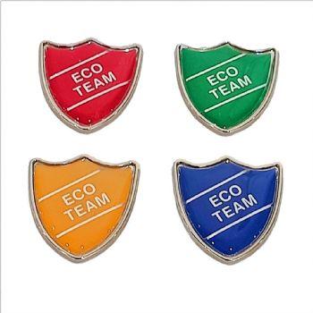 ECO TEAM shield badge